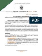 Plantilla Resolucion Directoral Conformación CORA 18-03-19