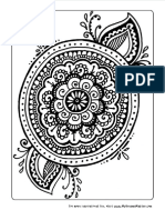 Colouring Pages 1 Redtedart