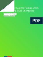 El año de la ruta eléctrica - Resumen Cuenta Pública 2018