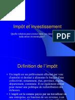 Impôts Et Investissements