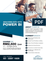 Power BI Full Programme Agenda