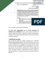 Casaacion N° 2701-2016 - Tacna - Eejecución de Garantás