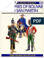 Osprey - Men at Arms 232 - Armies of Bolivar and San Martin
