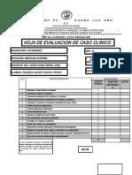 3 Hoja de Evaluacion de Caso Clinico