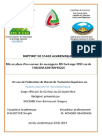 Rapport de Stage Asecna