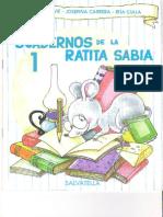 cuadernos ratita sabia