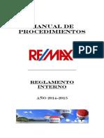 Reglamento Interno Remax