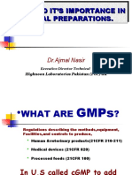 cGMP and it's Importance in Herbal Preparations 2010.