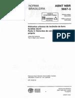ABNT NBR 5667-3