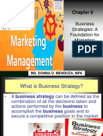 Business Strategies-product Policies