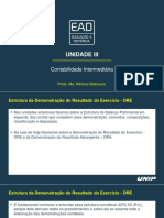 Contabilidade Intermediaria Unidade III Slides Tele Aulas