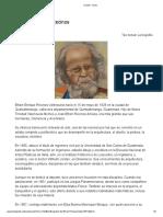 Biografia de Efrain Recinos