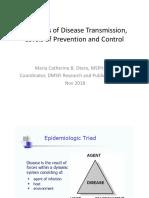 Disease Transmission MCBO