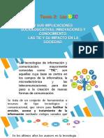 Presentacion. TIC. Tema2