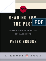 Peter Brooks - Reading for the Plot