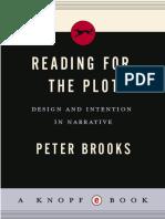 Peter Brooks - Reading for the Plot