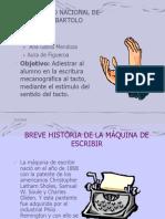 Historia de La Digitacion