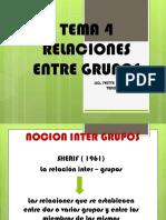 Tema 4 Relaciones Entre Grupos