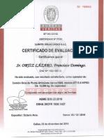 Certificado de Operador Francisco Ortiz Lazaro Ins