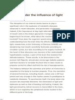 Insulin Under the Influence of Light