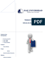 Trabajo Final de Informe de Auditoria financiera