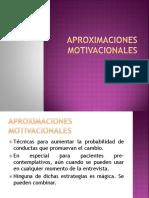 APROXIMACIONES MOTIVACIONALES