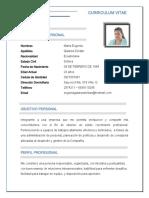 Maria Eugenia Galarza Deidan CV