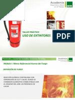 Taller de Extintores p