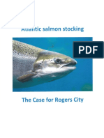 Rogers City's Atlantic salmon proposal