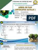 Industralizacion del arbol del pan (Artocapus Altillis)
