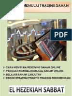 Memulai Trading Saham