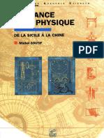 M. Soutif Naissance de La Physique de La Sicile a La Chine
