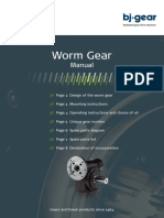 Wormgear Manual Uk