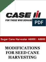 Seed Cane Harvester 8800 AUSTOF