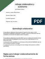 Aprendizaje Colaborativo y Autónomo