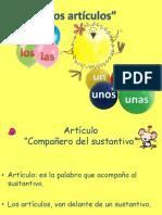 Ppt. Articulos Genero y Numero Lorena