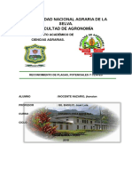 Informe de Entomologia General