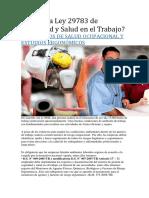 Qué es la Ley 29783 de Seguridad y Salud en el Trabajo.docx