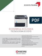 Catalogo Kyocera P3045dn