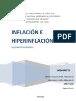 Inflación e Hiperinflación