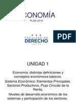 Unidad 1 Economia Plan 2018