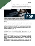 Anti Psicóticos Más Usados en La Población Esquizofrénica y Sus Efectos a Nivel Conductual
