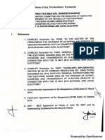 Guidelines for Mutual Understanding between the Coordinating Committees on the Cessation of Hostilities of the Government of the Philippines and the Moro Islamic Liberation Front  for Ceasefire -Related Functions During the May 13, 2019 National and Local Elections
