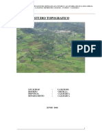 Informe Topografico Presentado a Vivienda
