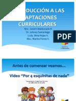 Taller Adaptaciones Curriculares 2017-2018