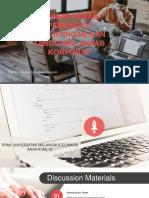 PPAK Bab XIV Prinsip Peran Pemangku Kepentingan Dan Tanggung Jawab Korporat