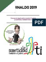 AGUINALDO RM 2019 La Santidad También Para Ti