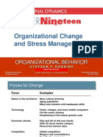 Chapter 18 Organizational Change and Stress Management