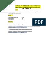 Expo Estudio de Tiempo y Estimacion de La Produccion