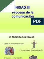 unidad iii proceso de la comunicacion